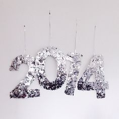 Super excited to ring in 2014 at Falls Festival tonight! Head over to the blog to check out the DIY confetti NYE numbers I made with @domainehome.  - @apairandaspare- #webstagram