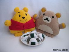 felt disney plush pooh