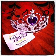 """Next year, I am running the #princesshalf because """"Tiaras are everywhere."""" ;-) #fitfluential"""