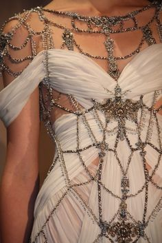 Marchesa - could inspire a cool bedazzled design.  :)