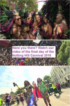 The final day of the Notting Hill Carnival 2016 saw spectacular costumes, sound systems and revellers dancing in the streets of west London.
