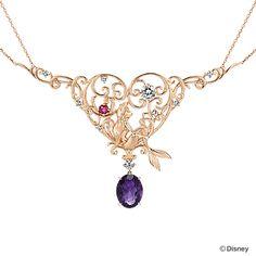 Disney little mermaid necklace