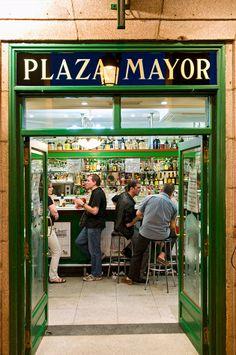 Bar Plaza Mayor. Madrid