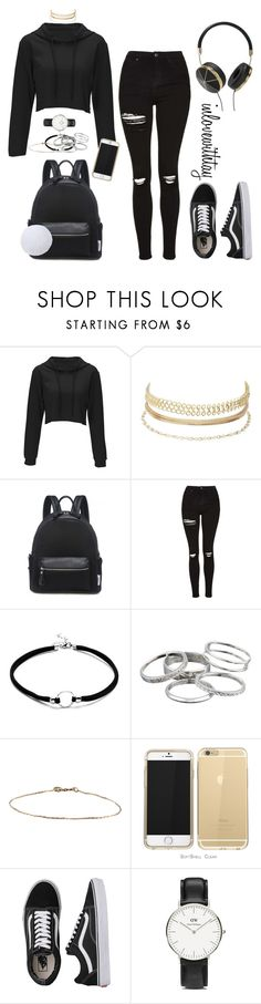 12❤ by inlovewithtay on Polyvore featuring mode, Topshop, Vans, Daniel Wellington, Kendra Scott, Charlotte Russe and Frends