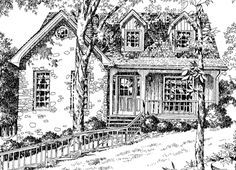 Stone Cottage House Plans | Standout Stone Cottage Plans ...