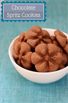 Chocolate Spritz Cookies | Real Food Real Deals #OXOGoodCookies