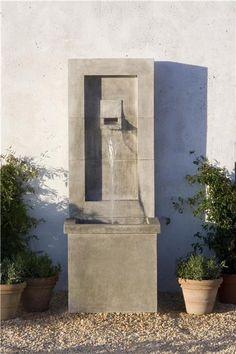 Moderne Patio Wall Fountain