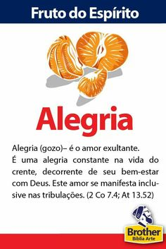 Fruto do Espírito - Alegria evangelho reformado I Love You Lord, God Is Good, Gods Love, Faith Quotes, Bible Quotes, Bible Verses, Bibel Journal, Sola Scriptura, Reformed Theology