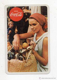 Coca-cola. Calendario de Bolsillo. Año 1970. H. Fournier, Vitoria.