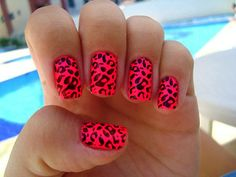 I want this done on my nails...