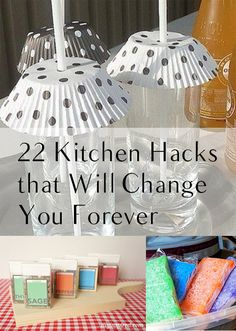 22 Kitchen HAcks that Will Change You Forever. DIY, DIY home projects, home décor, home, dream home, DIY kitchen, DIY kitchen projects, weekend DIY projects.
