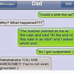 40 Hilarious Dad Texts That You'll Ever Read - FunRare 40 Hilarious Dad Texts That You'll Ever Read - FunRare,Humor 40 Hilarious Dad Texts That You'll Ever Read - FunRare jokes memes hilarious pictures texts hilarious can't stop laughing Funny Texts Crush, Funny Text Fails, Funny Text Messages, Funny Jokes, Funny Dad, Sms Text, Memes Humor, Dad Humor, Humor Texts