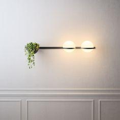 LED blown glass wall lamp PALMA | Wall lamp by Vibia
