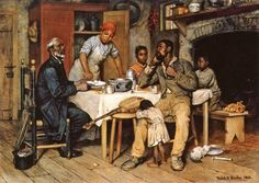 A Pastoral Visit, Richard Norris Brooke (1847-1920)