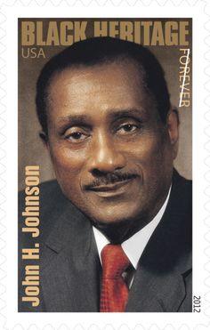 John H. Johnson, Forever | USPS Stamps
