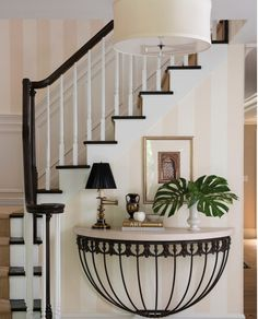 Nice entryway in New York Dorye Brown Interiors, as seen on Houzz.com