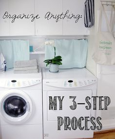 This is a great blog full of organizing tips from a professional organizer!