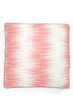 pretty #watercolor pink #pillow