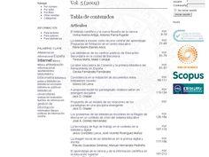 Sumario AdD Vol. 5 (2002)