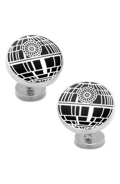 """Free shipping and returns on Cufflinks, Inc. 'Star Wars - Death Star' Cuff Links at Nordstrom.com. Conversation-starting style defines """"Earth-shattering"""" cuff links stamped with cool <i>Star Wars</i> appeal."""
