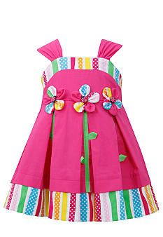 Bonnie Jean® Striped Flower Sundress