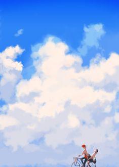 Toki wo kakeru shōjo, Makoto and Chiaki, The Girl Who Leapt Through Time, La Ragazza Che Saltava Nel Tempo Film Anime, Anime Music, Sad Anime, Manga Anime, Wallpaper Animes, Animes Wallpapers, Bakemono No Ko, Mamoru Hosoda, The Garden Of Words