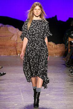 Band of Outsiders Fall 2012 Ready-to-Wear Fashion Show - Natalia Zambiasi