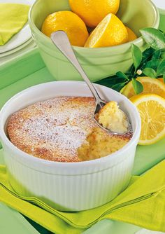 Easy lemon delicious pudding recipe