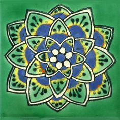 Mexican Decorative Tiles Talavera Mexican Ceramic Tile In 4X4 Tile Sets  Tiles  Pinterest