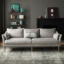 Antwerp Sofa Love the curves of this sofa and updated MCM look