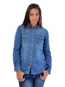 Dámska košeľa z pohodlného materiálu. Košeľa Kells je navrhnutá v modernom strihu, ktorý Ti osvieži šatník. Kráčaj s dobou spolu s JUSTPLAY.