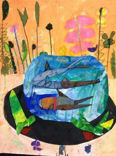 Art Stars: 2nd and 3rd grade: Matisse Fish Bowls
