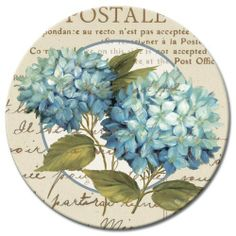 CounterArt Susan Lazy Susan Serving Plate, Blue Hydrangeas by Counter Art. $17.99. Decorative glass turntable serving piece. Measures 13-inche. Artistic design adds a distinctive style. Perfect for serving appetizers, cakes or desserts. Built-in mechanism allows for smooth rotation. Perfect for entertaining, this counterart lazy susan is a multi-functional piece that features a built-in mechanism that allows for a smooth rotation of its 13-inch round glass top. This serving pie...