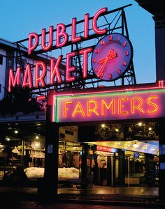 Pike Place Market: Seattle, Washington