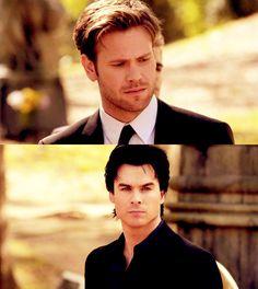 Damon and Alaric.