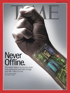 Apple Watch Time Magazine Cover #applewatch #wearabletech #tech #gadget