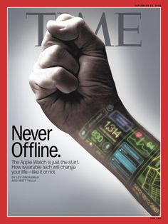 Apple Watch Time Magazine Cover 140922