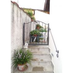 Wrought Iron Pedestrian Gate. Customize Realisations. 046 Pedestrian, Wrought Iron, Gate, Applique, Outdoor Structures, Design, Portal