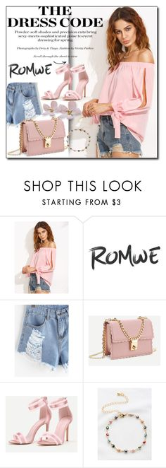 """ROMWE 6"" by woman-1979 ❤ liked on Polyvore"