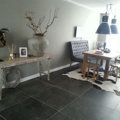 Entryway Tables, New Homes, Furniture, Home Decor, Living Room, Home Flooring, Homemade Home Decor, New Home Essentials, Home Furnishings