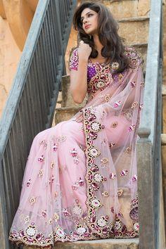 Bridal Wear Designer Sarees Collection 2013  www.weddingsonlilne.in
