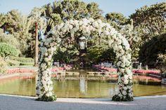 Wedding Floral ArchI Photography: Chloé Brown I Planning & Design: Lavender & Rose