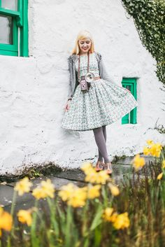 A Clothes Horse: Outfit: Couple Style At Brigadoon Cottage