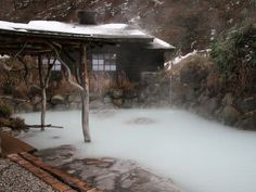 Tsuru no yu - Nyuto Onsen - Akita, Japan