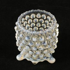 EAPG Opalescent Toothpick All Over Hobnail AJ Beatty by charmings