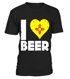 0f4fcf3cc I Heart New Mexico Beer State Flag Pride Drinking Home Tee . Special Offer