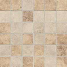 Daltile Rio Mesa Desert Sand 12 in. x 12 in. x 8 mm Ceramic Mosaic Floor and Wall Tile (10 sq. ft. / case)-RM1022CC1P2 at The Home Depot