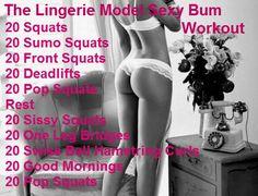 Sexy Bum Workout