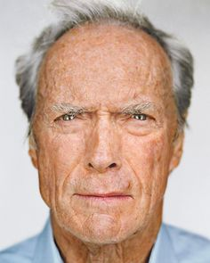 Clint Eastwood is as mad as a hatter (or hater) but this photo is great.