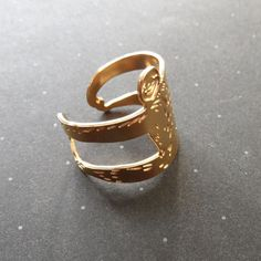 Sloth ring / wild thing studio by WildThingStudio on Etsy